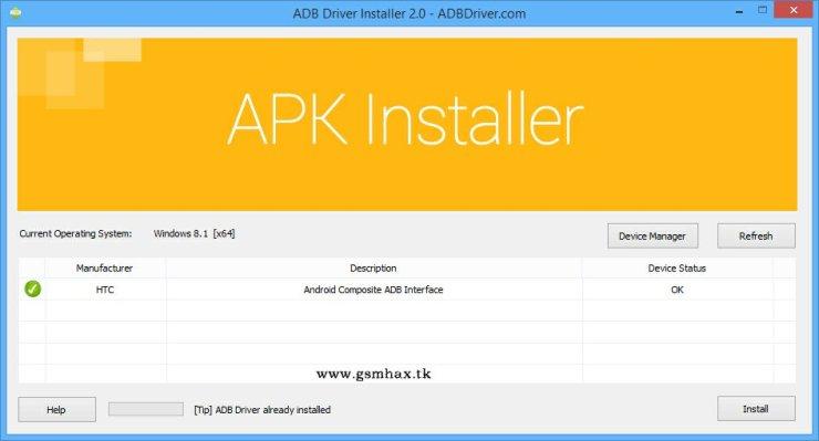 ADB Driver Installer v2 0 – ADBDriver com – ZIDON FREE SOFTWARE